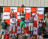 Men's singlespeed podium. © Fred Jordan