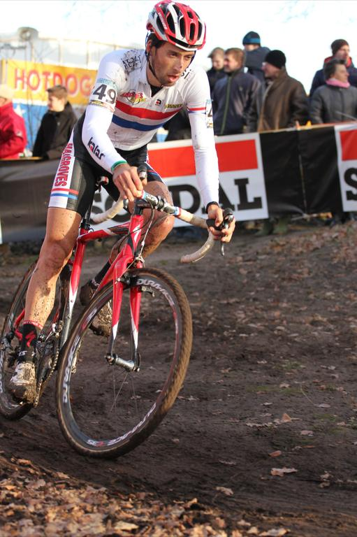 Ian Field (Hargroves Cycles) finished 27th and 3:43 down on Pauwels.© Thomas van Bracht