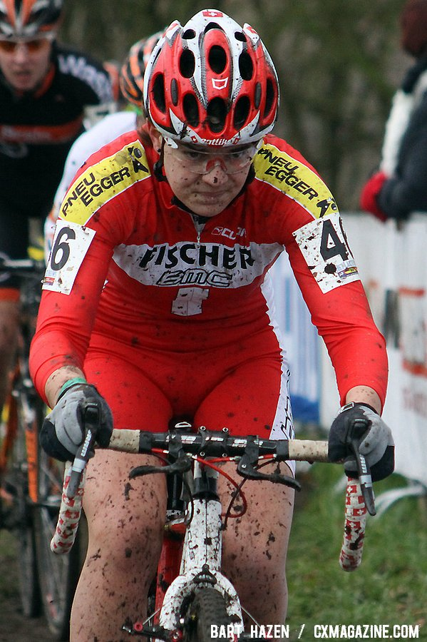Swiss Champion Jasmin Achermann - Hoogerheide Cyclocross Word Cup 2011