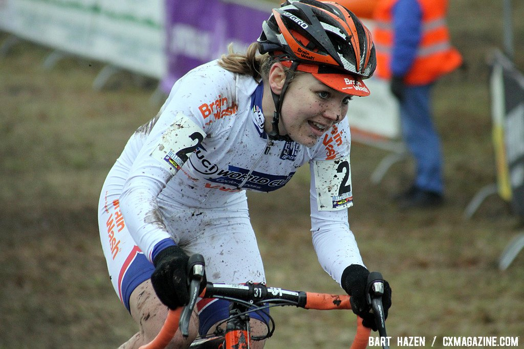 World Cup overall winner Sanne van Paassen
