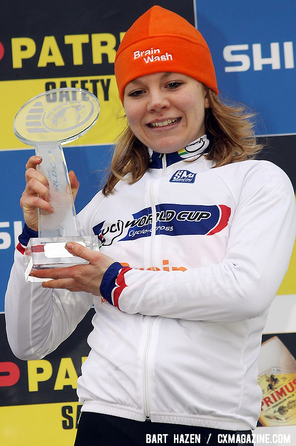 Sanne van Paassen winner of the UCI World Cup