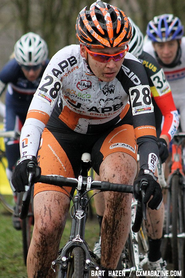 Nikki Harris - Hoogerheide Cyclocross Word Cup 2011