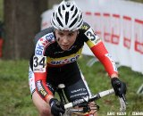 Belgian Champion Sanne Cant Hoogerheide Cyclocross Word Cup 2011