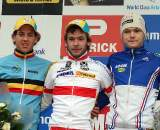 The U23 podium in Hoogerheide. ? Bart Hazen