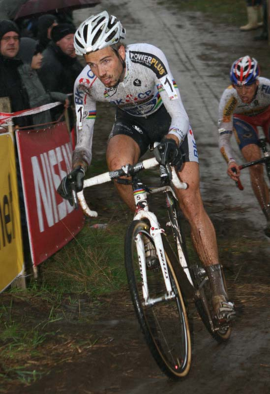 Niels Albert took to the front after a slow start. ? Bart Hazen