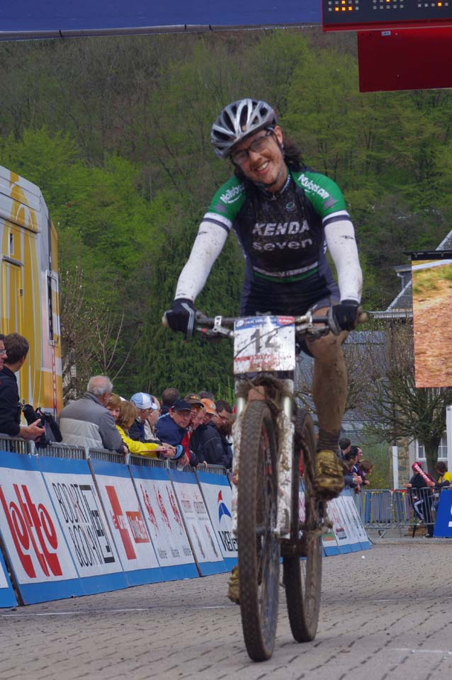 McConneloug after a solid race ? Jonas Bruffaerts