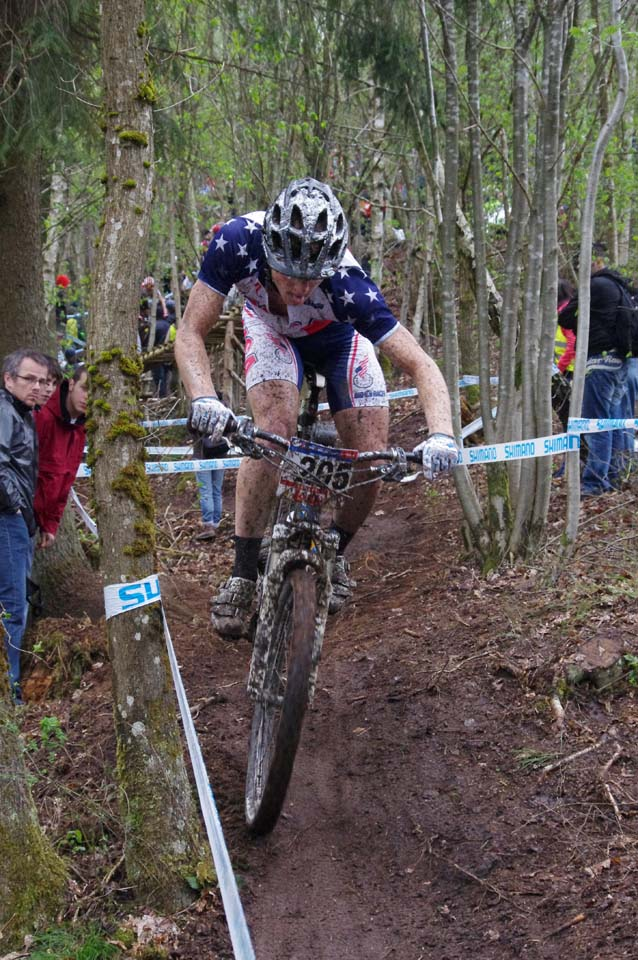 Body English by this American U23 ? Jonas Bruffaerts
