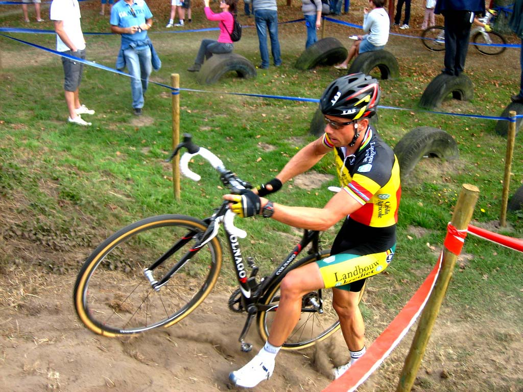 Sven Nys went on the early attack. by Dan Seaton