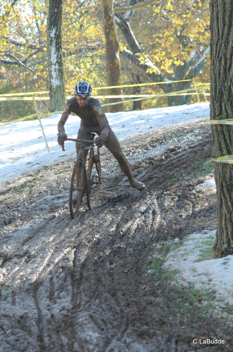 The course was full of tricky turns at HPCX 2011 © Chris LaBudde