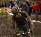 Niels Albert was just a little bit muddy by the end of the race © Cyclocross Magazine