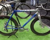 IF's Titanium Factory Lightweight Cyclocross Bike at NAHBS 2012.. ©Cyclocross Magazine