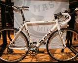 Masi had it's new aluminum $1786 CXR on display. ?Cyclocross Mag