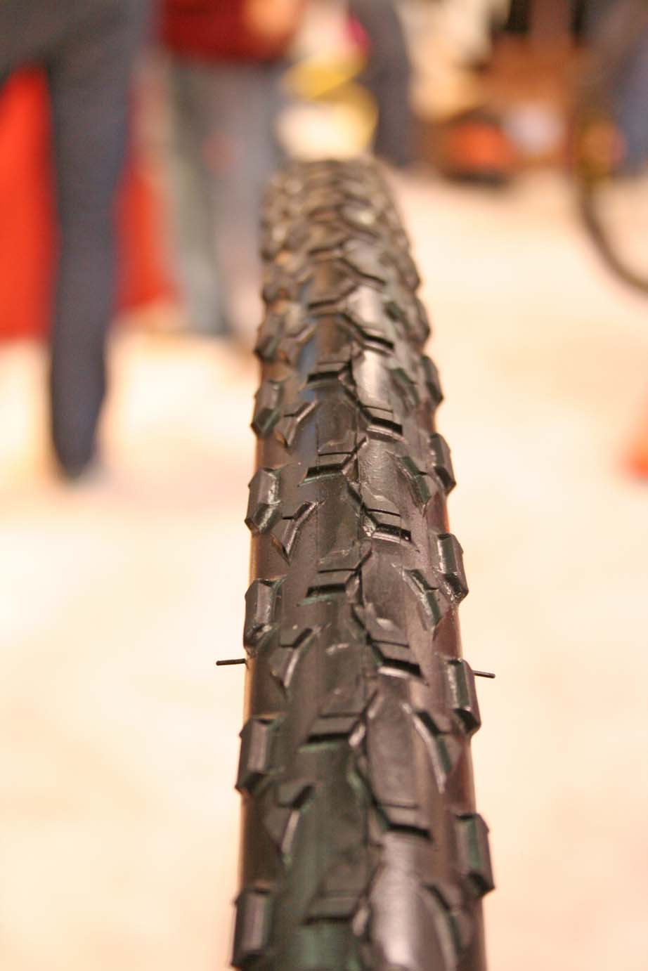 Maxxis unveiled its Mud Wrestler clincher