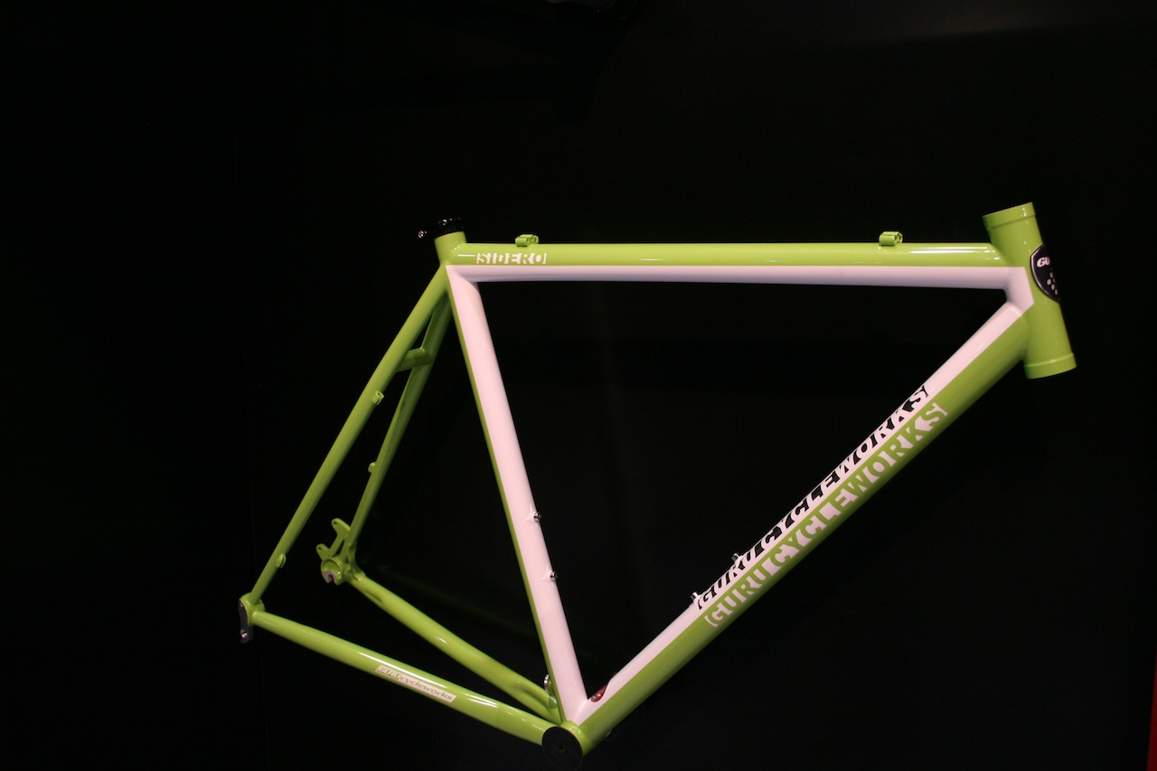 The paint color options run the gamut, but this green and white model showed off the steel Sidero nicely © Josh Liberles