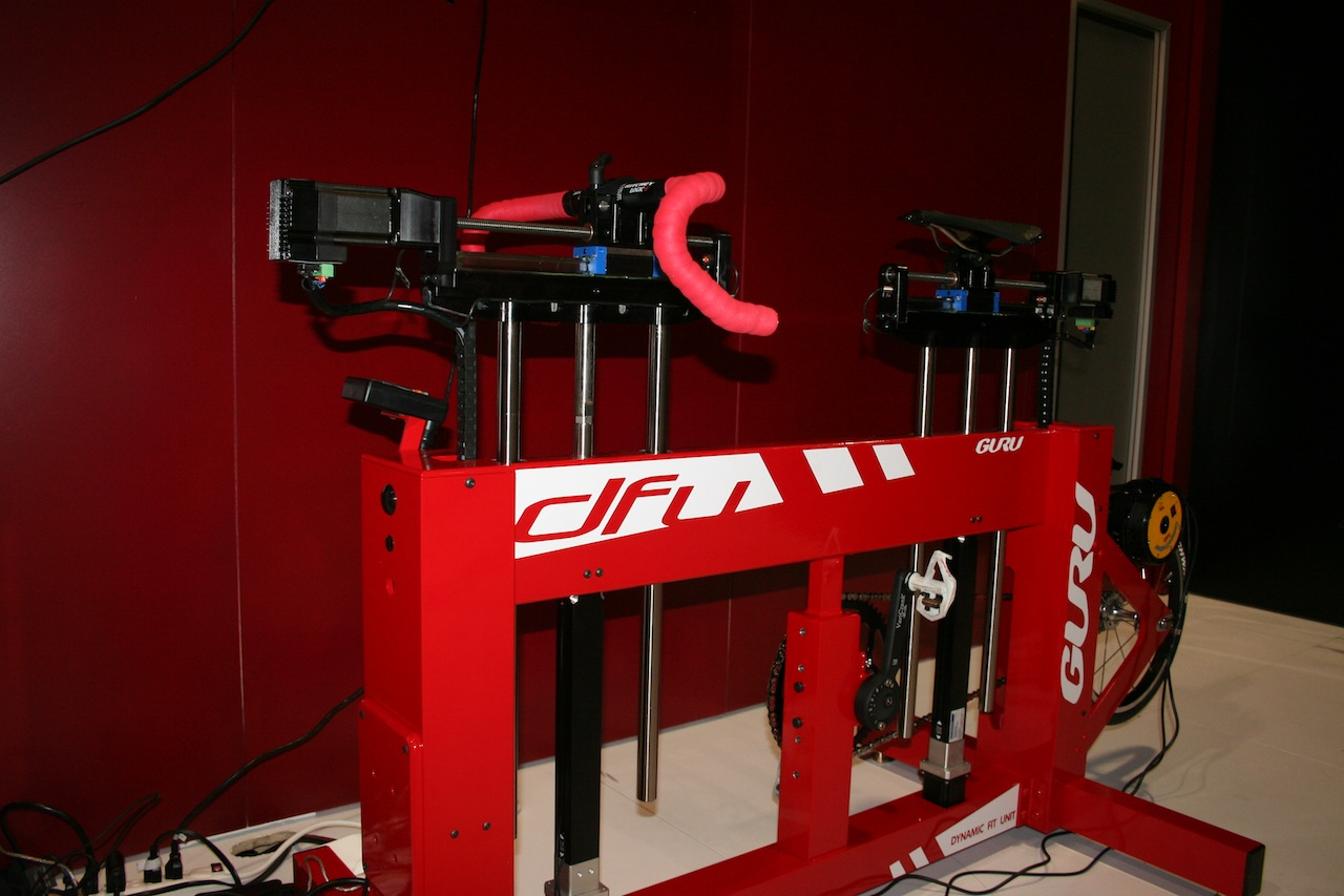 The DFU dynamic fit system provides on-the-fly, robotic adjustments © Josh Liberles