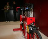 The fitter can move the rider's setup mid-pedal stroke © Josh Liberles