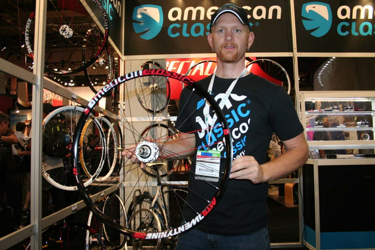 Robert Marion has been tearing it up with these American Classic 29er tubeless disc wheels © Josh Liberles