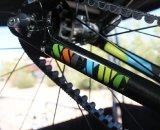 Raleigh has just 40 carbon SSCXWC frames on the way. They're belt drive compatible. Cyclocross @ Interbike 2010. © Cyclocross Magazine