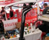 Todd Wells' 2012 Specialized Crux Expert being built the day before Cross Vegas 2011. © Cyclocross Magazine