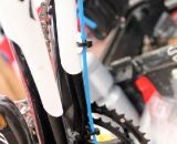 Todd Wells' 2012 Specialized Crux Expert with secured cable housing. © Cyclocross Magazine