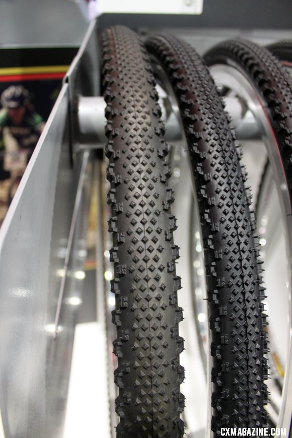 Ready to monster cross? Kenda has a Happy Medium cyclocross tire now available in a 40c option. Cyclocross Tires at Interbike 2011. © Cyclocross Magazine