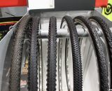 Kenda showed off its wide selection of cyclocross tires, treads and widths. Cyclocross Tires at Interbike 2011. © Cyclocross Magazine