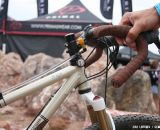 The reel plus magnets mean you'll know where to reach for your next sip. ©Cyclocross Magazine