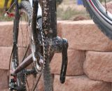 The wide down tube and bottom bracket junction on the Supernova. © Cyclocross Magazine