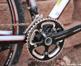 Cranks are FSA Gossamer, derailleur is SRAM Rival. ©Cyclocross Magazine