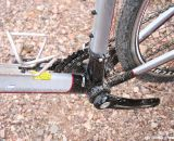 Add a bottle cage and it's good to go for longer rides. It has space for fenders as well. ©Cyclocross Magazine