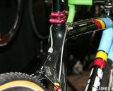 The Crossberg's Belgium-inspired paint scheme is a head-turner.