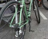 All aluminum, with a single front ring. ©Cyclocross Magazine
