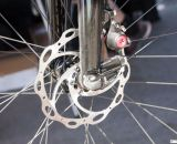 Disc brakes come standard, BB7s or Parabox, depending on the model.  © Cyclocross Magazine
