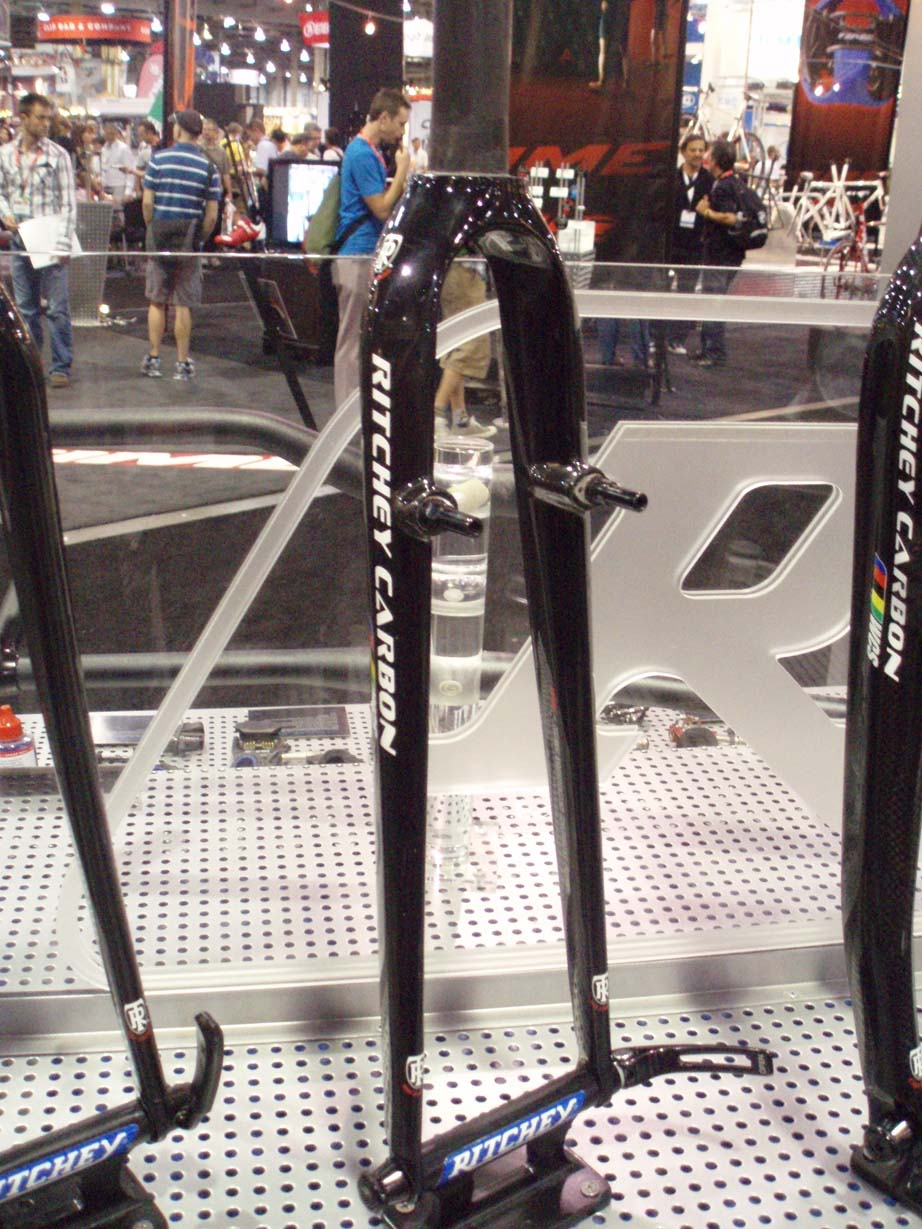 Ritchey\'s cross fork only comes in a straight blade this year. by Jake Sisson