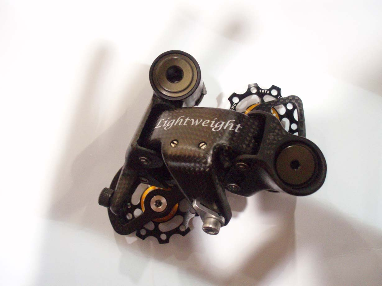 Your 13 pound cx bike not light enough? Lightweight offers this beautiful derailleur, but it will cost you. by Jake Sisson