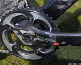 SRAM Red 22 crankset with 34/44 chainrings. © Kenny Wehn