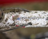 Never forget - Jake Wells' Ridley X-Fire Disc cyclocross bike. © Cyclocross Magazine