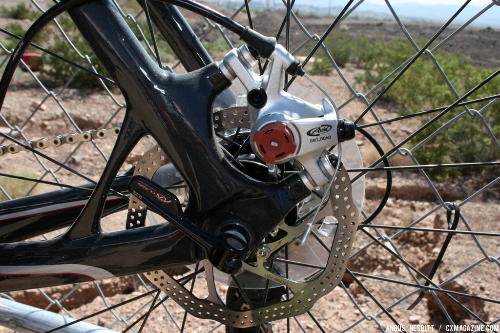 Avid mechanical disc brakes. © Cyclocross Magazine