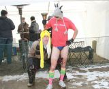 Superfan at the Elite World Championships of Cyclocross. © Janet Hill