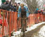 Tired looking Belgian at the Elite World Championships of Cyclocross. © Janet Hill
