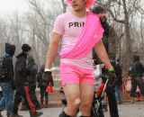Another superfan and ridiculous costume contender at the Elite World Championships of Cyclocross. © Janet Hill