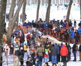 The crowds were packed at the Elite World Championships of Cyclocross. © Janet Hill