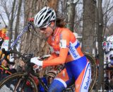 Vos was unstoppable at the Elite World Championships of Cyclocross. © Janet Hill