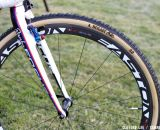 Easton EC90 SL wheels with Dugast tires. ©Cyclocross Magazine