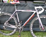 Powers will be rocking disc brakes for at least part of the season, probably in the muddier races. ©Cyclocross Magazine