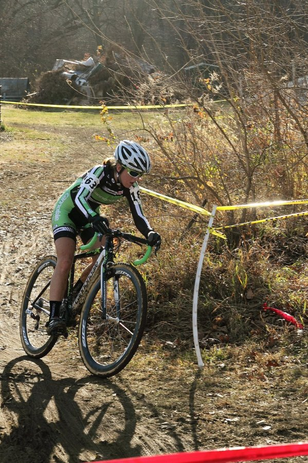 Kaitlin Antonneau. Jingle Cross 2010 Day 3. © Michael McColgan
