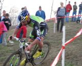 Johnson took a second win on Day 3 of Jingle Cross at Jingle Cross Day 3. © Elisabeth Reinkoldt