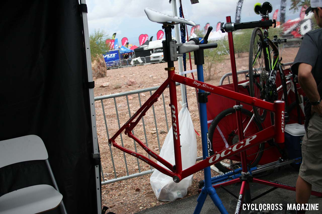 Parbo\'s 2011 disc-ready OCCP ride, phase two of the slow build process.