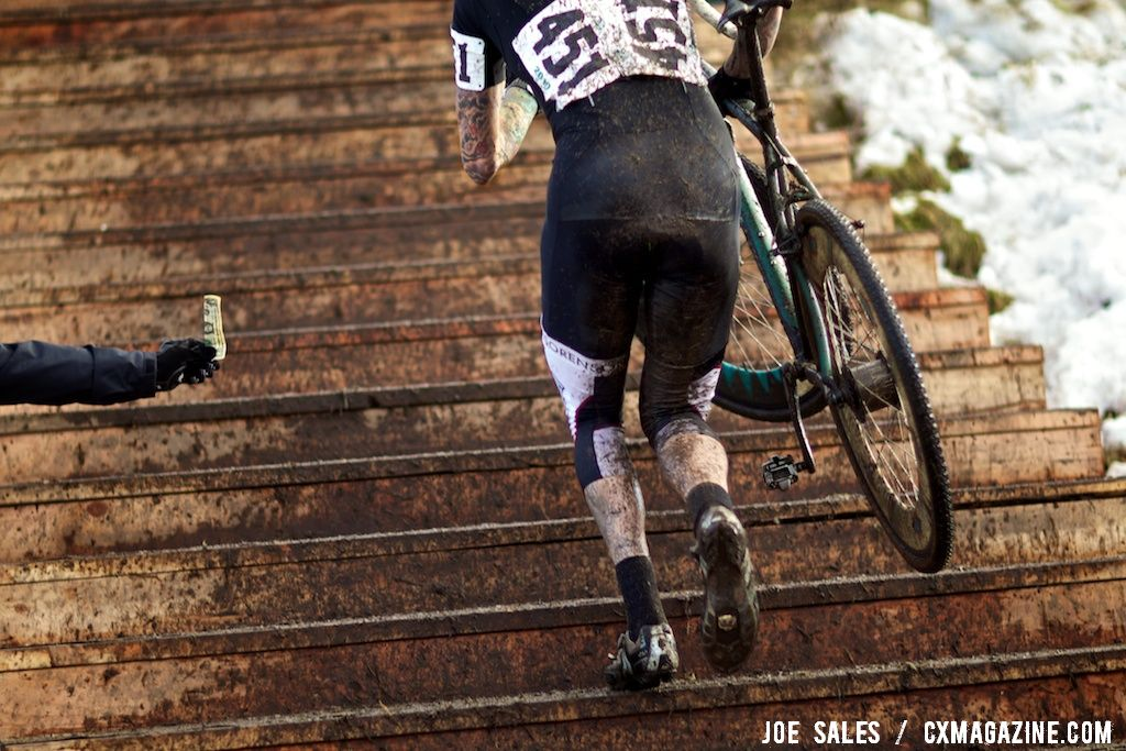 Racing for glory not money in the singlespeed National Championship race.