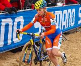 Daphny Van Den Brand just beat out Sanne Cant for second place. © Jonas Bruffaerts